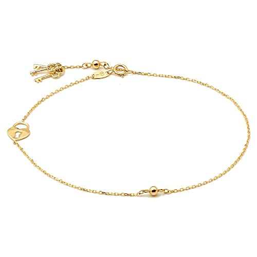 yellow miscellaneous and anklets gold anklet white