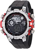 Armitron Men's 40/8251RED Black Digital Sport with Red Metalized Accents Watch, Watch Central