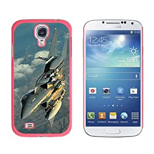 US Airforce F-15 Strike Eagle - Snap On Hard Protective Case for Samsung Galaxy S4 - Pink