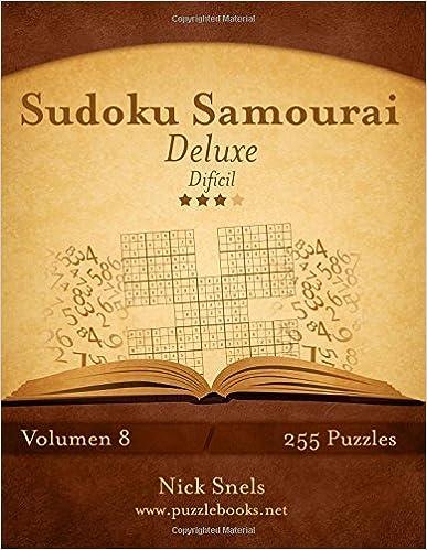 Se descarga ebooks Sudoku Samurai Deluxe - Difícil - Volumen 8 - 255 Puzzles: Volume 8 PDF ePub iBook 1512343188