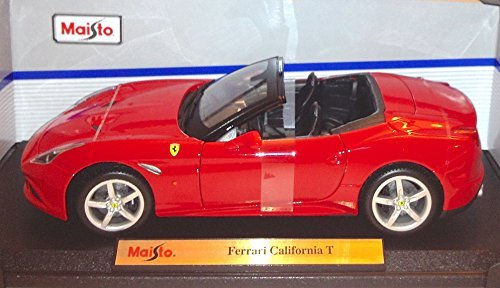 Red Ferrari California T Convertible Die Cast 1/18 Special Edition by - Special Ferrari Edition