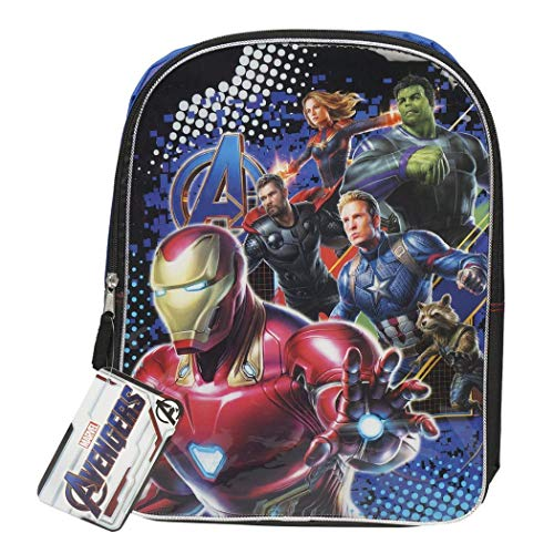 6f0166d19ac6 Character Backpacks For School, Summer Camp, Travel and Outdoors With  Adjustable, Padded Back Straps (Avengers, 15