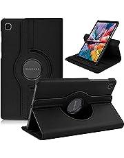 Capa Case 360 Giratória Galaxy Tab A7 Lite 8.7 Couro T220/25 (Preta)
