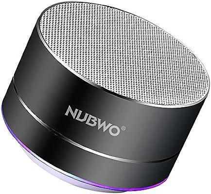 Amazon.com: nuwbo altavoz bluetooth portátil inalámbrico con ...