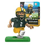 NFL Green Bay Packers Gen4 Limited Edition Mason Crosby Mini Figure, Small, White