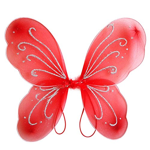 Weixinbuy Halloween Cosplay Kid Girl Angel Fairy Wings Dress Party Costume Party Angel Dress