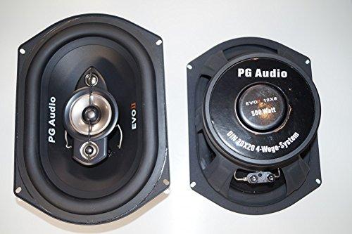 PG Audio EVO II 12x8(34cmx24cm)1200 Watt max., Megagroß und Extrem Laut, Neu 1 Paar