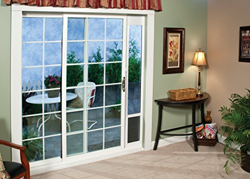 petsafe freedom aluminum patio panel sliding glass pet door new