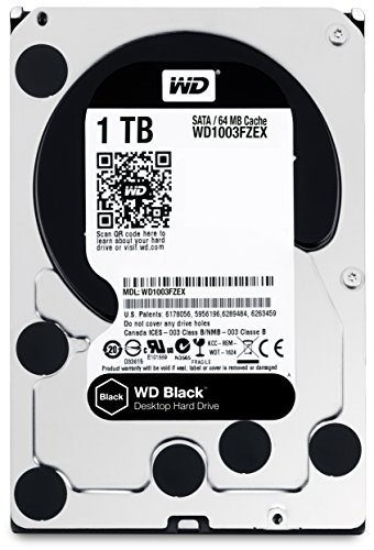 WD Black 1TB Performance Desktop Hard Disk Drive - 7200 RPM