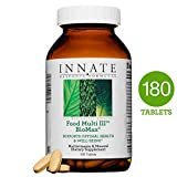 INNATE Response Formulas - Food Multi III BioMax, Herb Free Foundational Multivitamin, 180 Tablets