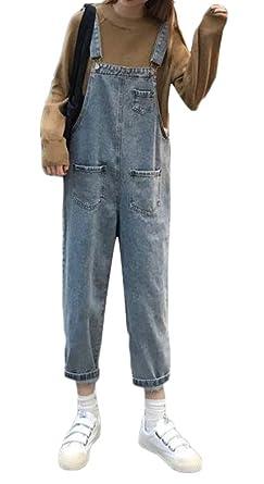 KLJR Women Lacy Lace Hollow Out Straight Leg Slim Jeans Denim Pants