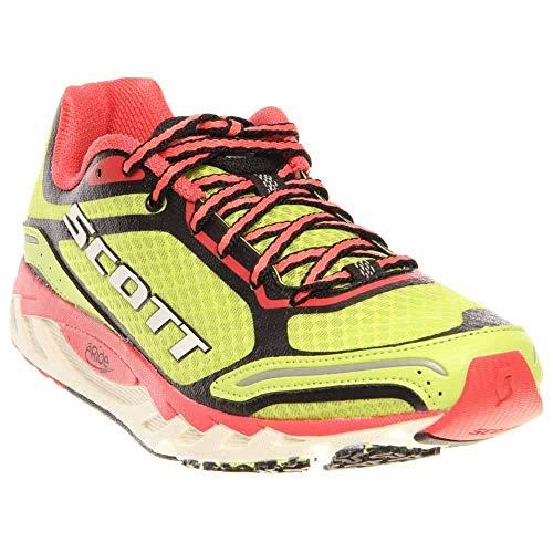 Scott Running eRide Af Trainer 2.0-Womens, Green/Red, 7 C US
