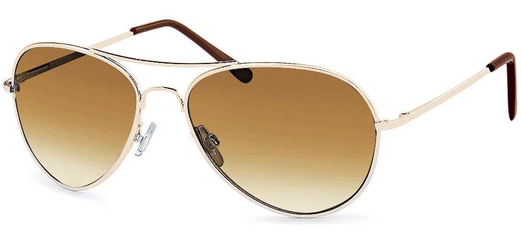 Braune Polarisierte Pilotenbrille 4TBTuJBn5