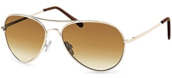 Feinzwirn Sonnenbrille Pilotenbrille Brillenbeutel aus Microfaser für schmale Gesichter und Kopfformen aJ7qK