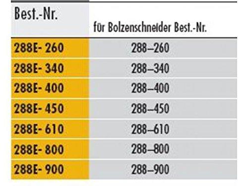 Elora 288008016000 Spare Jaw for Bolt Cutter 288E-800