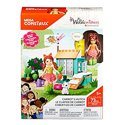 Mega Construx Welliewishers Carrot's Hutch: Toys & Games