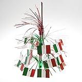 Italian Flag Cascade Centerpiece Party A