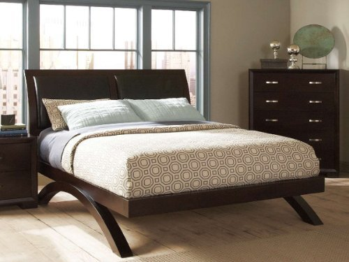 Homelegance Astrid Bed in Espresso - Eastern King
