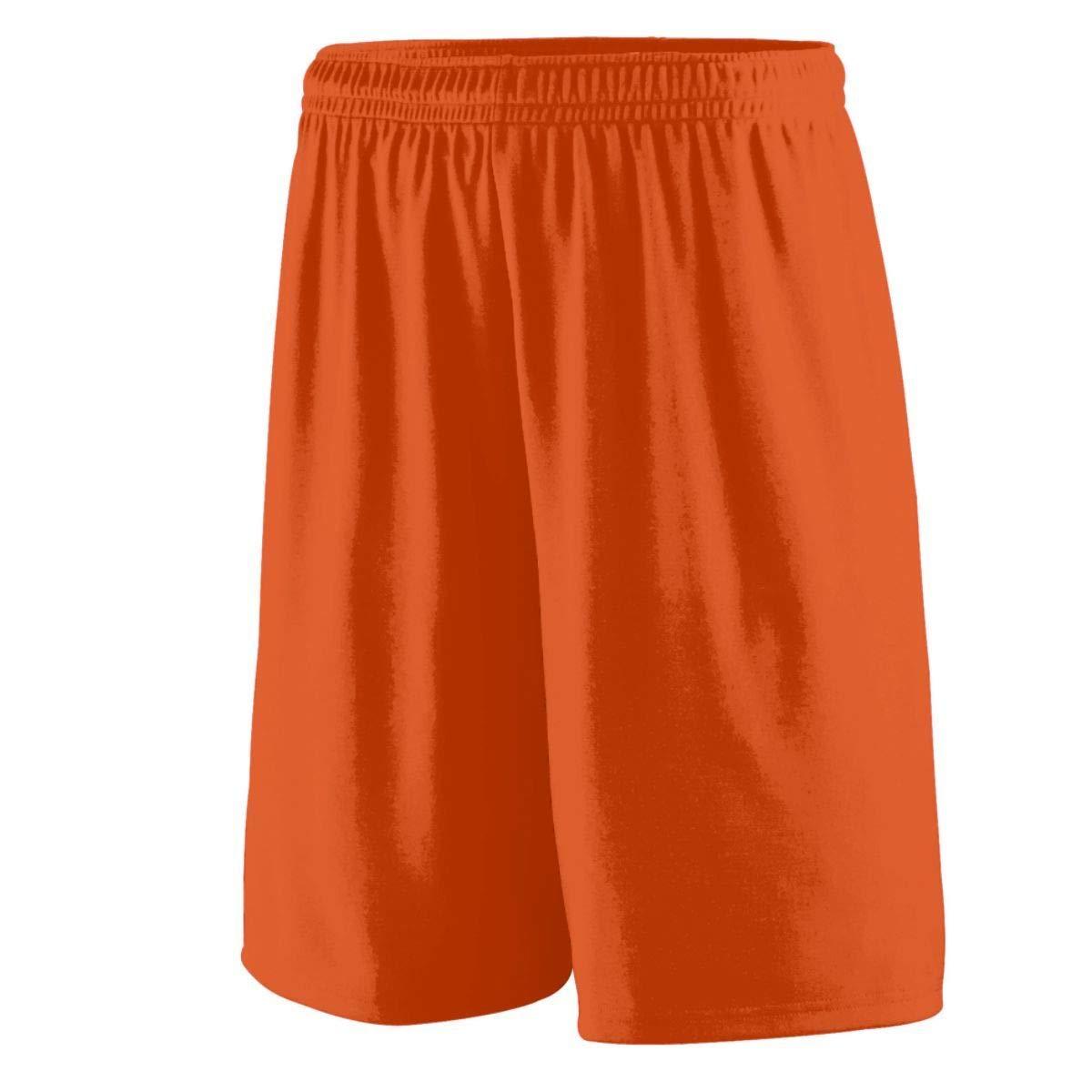 Augusta Sportswear Men's Training Short, Orange, X-Large by Augusta Sportswear