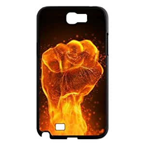 SHJFDIYCase Design Custom The Flame Force Durable Hard Back Cover Case for Samsung Galaxy Note 2 N7100, Custom Phone Case SHJF-504260