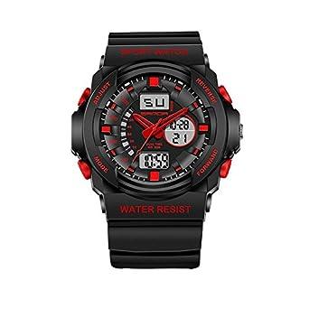 Student multifunktionale elektronische Uhren leuchtender Herren Uhren wasserdicht laufen im freien Wandern Uhren