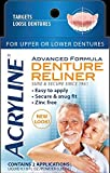 Acryline Advanced Formula Denture Reliner, 2 Applications by Acryline 2