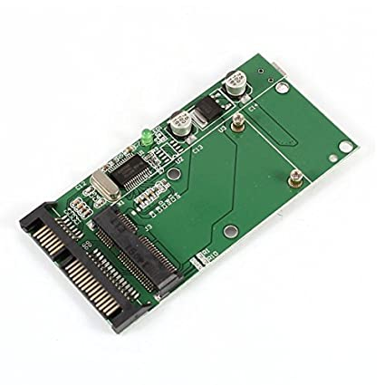 Amazon.com: eDealMax Mini PCI-E SSD mSATA a SATA 2.5 ...