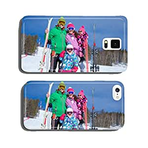 family on winter resort cell phone cover case Samsung S5