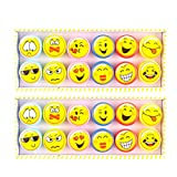 TOYMYTOY Plastic Stamps Stampers Great Birthday Party Favors Supplies - 24 Pieces