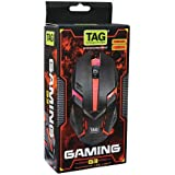 Tag G3 1000 DPI Changing Colors LED Optical USB Wired Gaming Mouse for Windows and Mac (Multicolour)