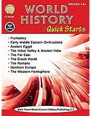 Mark Twain – World History Quick Starts Workbook, Social Studies, History, 64 Pages, Grades 4–12