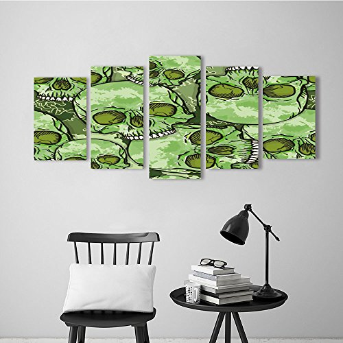 Nalahome 5pcs Contemporary Wall Art Camouflage