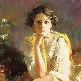 Yellow Shawl - Canvas