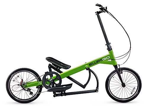 ElliptiGO Arc 3 - The World's First Outdoor Elliptical Bike (Green)