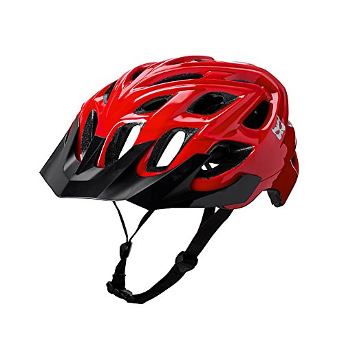 Kali Protectives Chakra Logo Bike Helmet (Red, X-Small/Small)