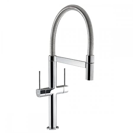 Mc4bgh Hotpoint Professional Coil Chrome Twin Lever Kitchen Sink