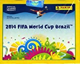 2014 Panini FIFA World Cup Brazil Factory Sealed HUGE 50 Pack Sticker Box with 350 Brand New MINT World Cup Stickers!