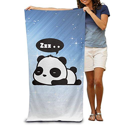 Kung Fu Panda Costume Pattern (ShanxianP Sleeping Panda Cute Soft Fast Drying Beach Towel Pool Towel 3050)