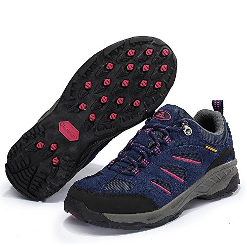De Eerste Outdoor Luchtkussen Wandelschoenen Voor Dames Ademende Outdoor Sportschoenen Sneakers Voor Dames, Paars (us 5)