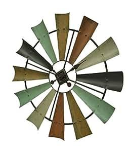 Amazon.com: Special T Imports Multicolor Metal Windmill ...