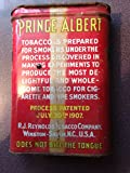 """Vintage Prince Albert Pat 1907 Pipe & Cigarette Tobacco Tin """"Tin Only, Does Not Contain Tobacco"""""""