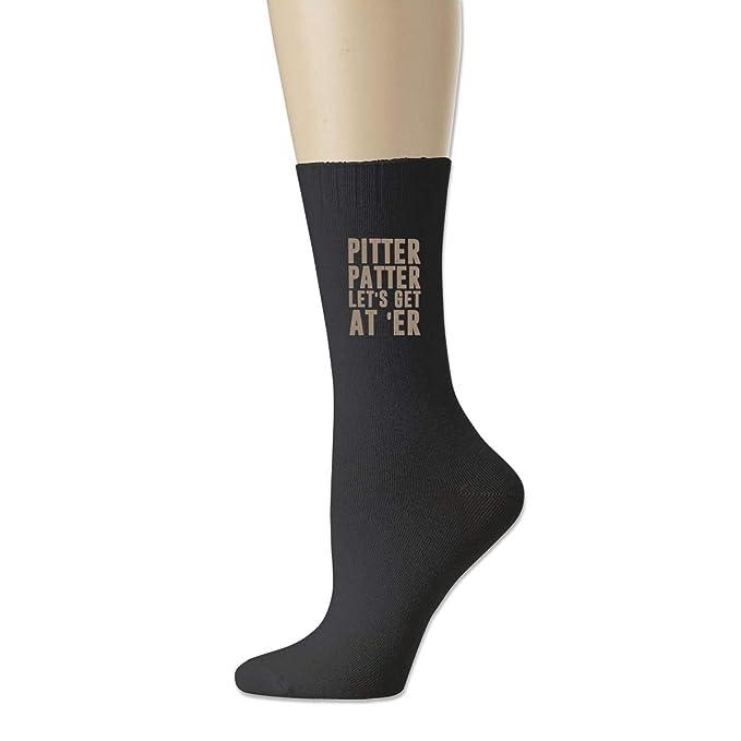 Amazon.com: Pitter Patter LetterKenny – Calcetines de fútbol ...