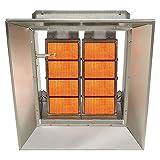 SunStar Propane Heater Infrared Ceramic, 65000 Btu