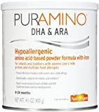 PurAmino Hypoallergenic Amino Acid Based Infant Formula Powder, 4 Count