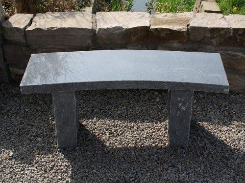 piedra natural piedra Banco de jardín muebles de jardín banco Granito * Maui *: Amazon.es: Jardín