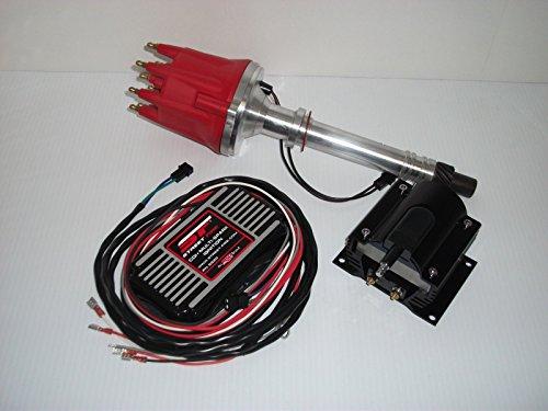 Box Msd Distributors Billet Pro - MSD Street Fire Chevy SBC BBC Pro Billet Distributor Ignition Box Coil 350 454