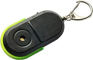 جهاز محدد مفتاح إنذار لاسلكي مضاد للضياع مزود بصافرة صوت أخضر ليد