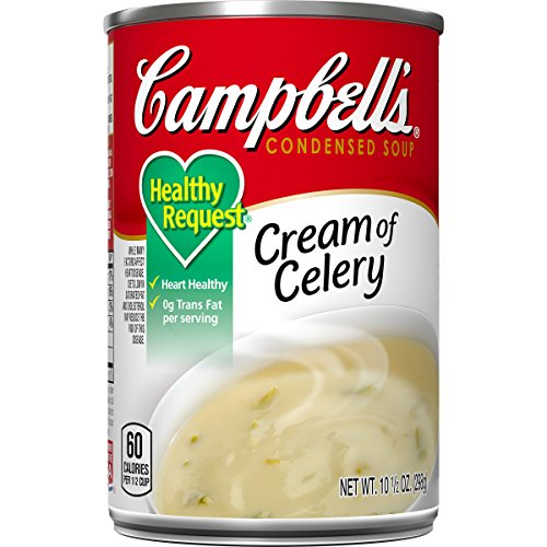 Campbell's Condensed Healthy Request Cream of Celery Soup, 10.5 oz. Can (Pack of 12)