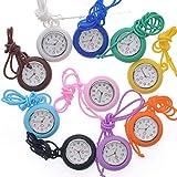 NICERIO Nurse Pocket Watch Medical Watch Silicone