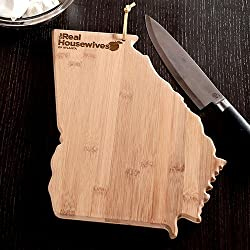 The Real Housewives of Atlanta – Georgia Shaped Cutting Board
